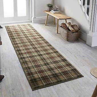 Cocktail Highland Runner Rugs In Green