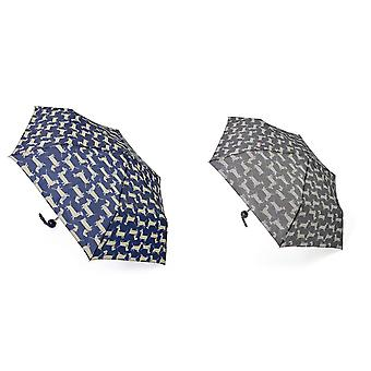 Drizzles Womens/Ladies Dachshund Dog Compact Umbrella