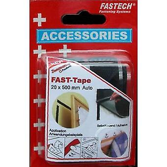 FASTECH® 908-330 Nastro aderente e loop stick-on (adesivo hot melt) Hook e loop pad (L x W) 500 mm x 20 mm Nero 1 Coppia