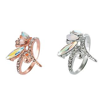 Sparkle Womens/Ladies Mixed Stone Cocktail Ring