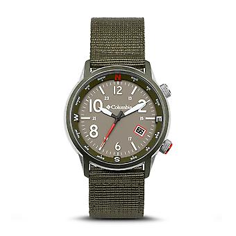 Columbia CSC01-008 Mens Outbacker Green Strap Wristwatch
