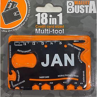 Multitool Multitool JAN debetní karta kreditní karty