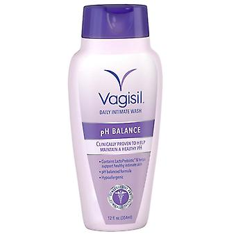 Vagisil feminine wash ph balanced, light & fresh, 12 oz