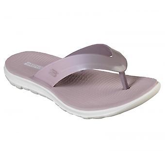 Skechers Nextwave Ultra Ladies Flip Flops Lilac