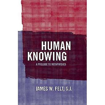 Human Knowing A Prelude to Metaphysics von Felt & S.J. & James W.