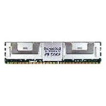 Transcend 1GB DDR2-667 FB-DIMM ECC memoria DDR 667 MHz Data Integrity Check