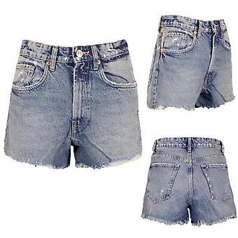 Naisten Farkkushortsit Hot Pants