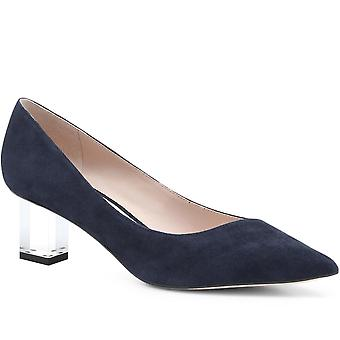 Staccato Womens Pointed Plexi-Heel Court Shoe