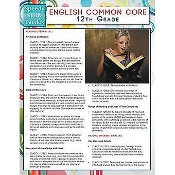 English Common Core 12th Grade Speedy Study Guides by Publishing LLC & Speedy