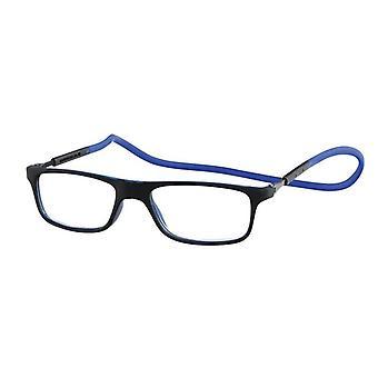 Reading Glasses Magnet Magnet Magnet Rubber Blue/Black Strength +1.50 (le-0180B)