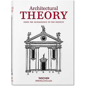 Architectural Theory by Taschen - 9783836557467 Book