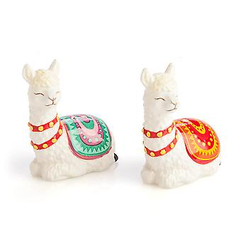 Alpaca Salt & Pepper Set