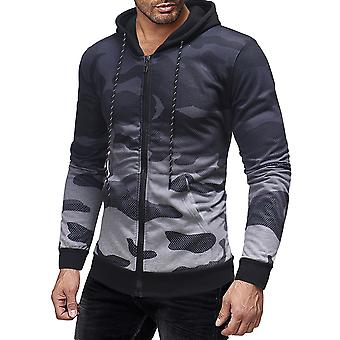 Cloudstyle mannen jas kleurovergang Camouflage Hooded blouson