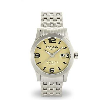 LOCMAN - Wristwatch - Men - 0615V07-00SAKBR0 - ISLAND ONLY TIME AUTOMATIC