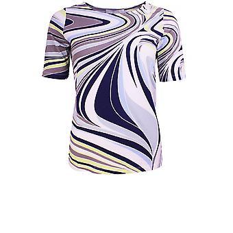 Bianca Vibrant Swirl Design Top