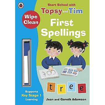 WipeClean First Spellings Start School by Jean Adamson