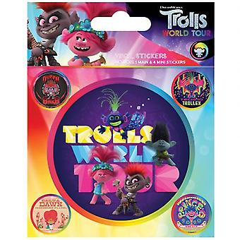Trolls World Tour Stickers