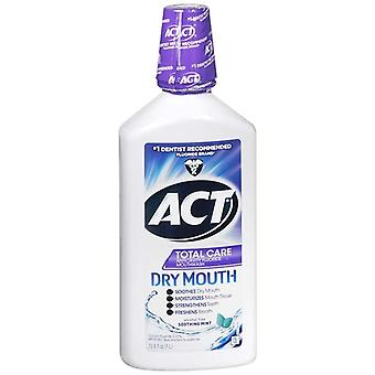 Act total care dry mouth anticavity mouthwash, soothing mint, 33.8 oz