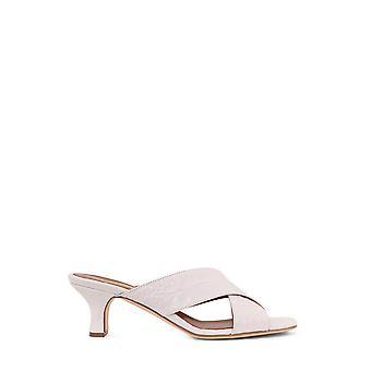 Paris Texas Px222xcag2bianco Women's White Leather Sandals