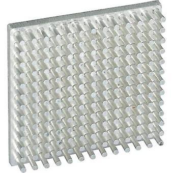 SEPA PB40-40-10-144-AL-2 Heatsink (L x W x H) 40 x 40 x 10 mm