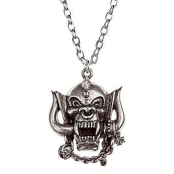 Motorhead colier pandantiv Warpig Anglia logo-ul nou oficial Alchemy Silver