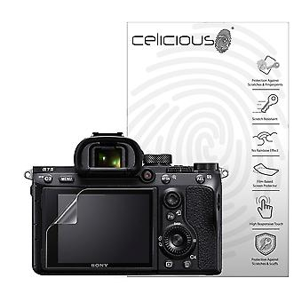 Celicious Vivid Plus Mild Anti-Glare Screen Protector Film Compatible with Sony A7 III [Pack of 2]
