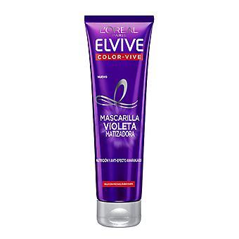 Toning Mask Elvive Färg-vive Violeta L'Oreal Make Up (150 ml)
