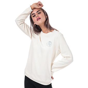 Women's Diesel Willa Crew Sweatshirt in Cream