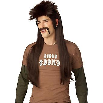 Mississippi Mudflap Brown Wig For Adults