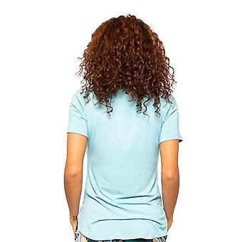 Cyberjammies Valerie 4537 Women's Light Blue Placket Pyjama Top