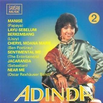 Various Artist - Indonesian Love Songs Adinda 2 [CD] USA import