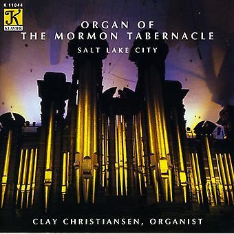 Vierne/Elmore/Saint-Saens - Pipe Organ of the Mormon Tabernacle [CD] USA import