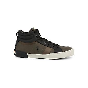 U.S. Polo Assn. - Schuhe - Sneakers - ARMAN7099W9-CY1-KAK-BLK - Herren - darlolivegreen,black - EU 44