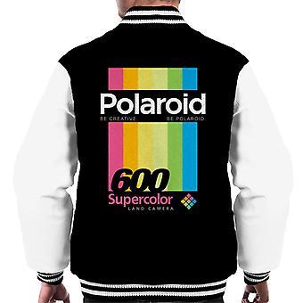 Polaroid 600 Supercolour Stripes Miehet&s Varsity Takki