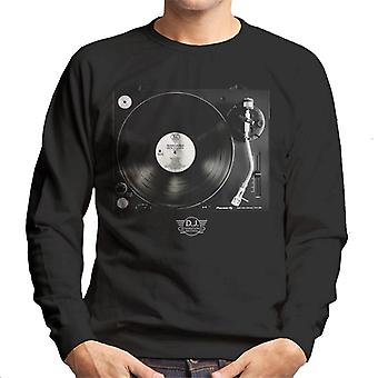 DJ International Records Turntable Men's Sweatshirt