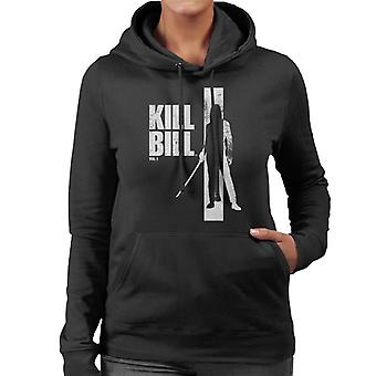Kill Bill Beatrix Silhouette Women's Hooded Sweatshirt