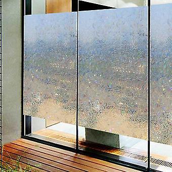 Geometrische Muster Transparent selbstklebende Tapete Pvc Fenster Glas Tür Aufkleber 100cm * 45cm