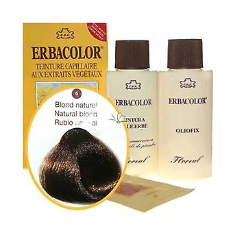 6 Natural blond Erbacolor 120 ml