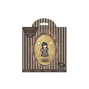 Gorjuss 6x6 tums papperspaket (32pk) (GOR 160127)