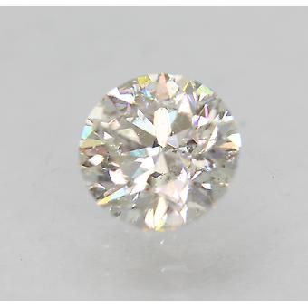 معتمد 0.80 قيراط G VS2 جولة رائعة المحسنة الماس الطبيعي 5.66mm3VG