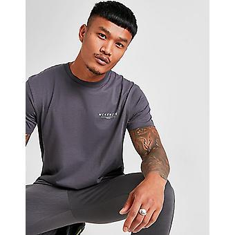 Uusi McKenzie Miesten essential lyhythihainen T-paita Harmaa