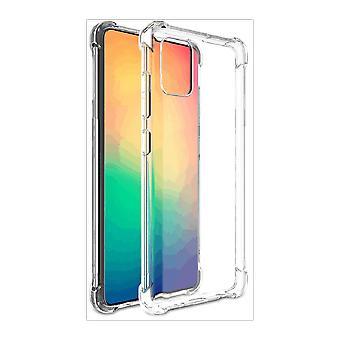 FONU Anti-Shock Verstevigde Backcover Hoesje Samsung Galaxy Note 20 - Transparant