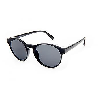 Sonnenbrille Unisex    matt schwarz/rauchfarben (19-069)