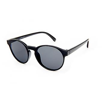 Gafas de sol Unisex negro mate/color humo (19-069)