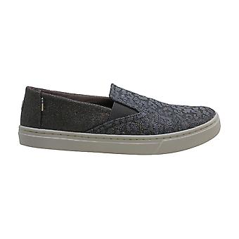 TOMS Kids Girl's Luca (Little Kid/Big Kid) Atlantic Iridescent Glimmer/Cordur...