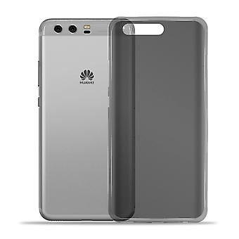 Soft Mobile Schutz für Huawei P10 Mobile Protection TPU Mobile Case Solid Color Shockproof Grey