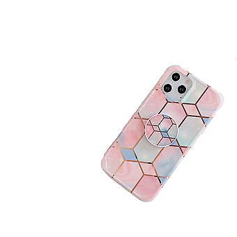 Stoßfestes Handygehäuse mit Halter, für iPhone 11 pro max - Pink/Blue