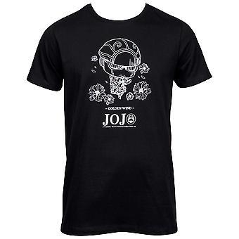 ジョジョ&アポス、ゴールデンウィンドジョルノジョヴァンナスタンドメン&アポス;s Tシャツ