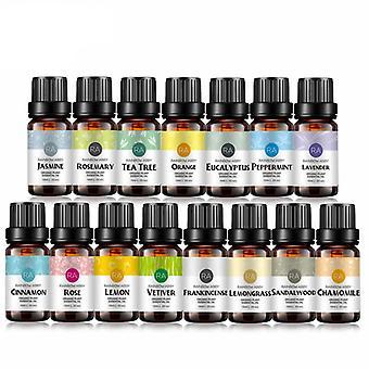 10ml eteriske oljer kits - naturlig aromaolje, difusers, kroppsmassasje olje -