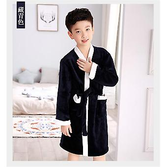 Super Soft Flannel Toddler Bathrobes Boy Baby Nightgowns Home Clothing Pajamas